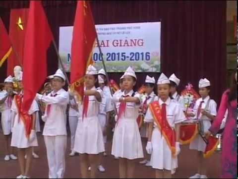 Lễ khai giảng năm học 2015-2016, trường THCS Lê Lợi, Vinh, Nghệ An
