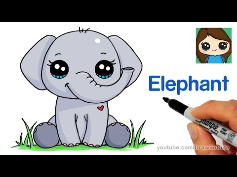 Video How to Draw an Elephant Easy download in MP3, 3GP, MP4, WEBM, AVI, FLV January 2017