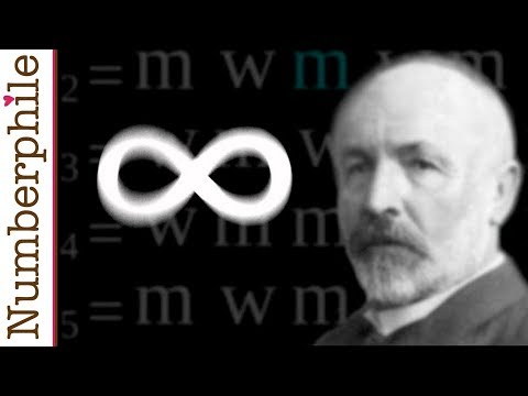infinity - Sometimes infinity is even bigger than you think... Dr James Grime explains with a little help from Georg Cantor. Website: http://www.numberphile.com/ Number...