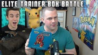 Pokémon Cards - Steam Siege Volcanion Elite Trainer Box Opening Battle vs TheSupremeRK9s! by The Pokémon Evolutionaries