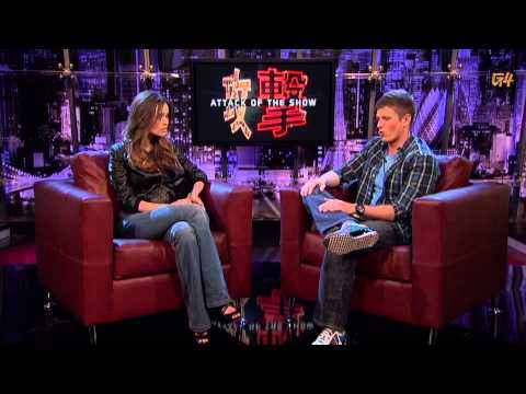G4TV - The Cape's Summer Glau in Studio