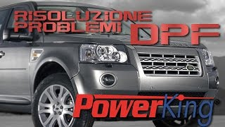 Risoluzione Dei Problemi Causati Dal Filtro Antiparticolato DPF Su Land Rover Freelander 2 PowerKing