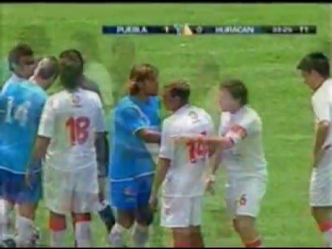 El ruso  vs Huracán de Argentina.