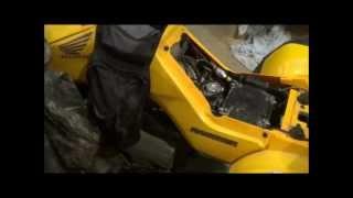 8. 2005 Honda Rancher Fourtracks TRX350TM Electric Starter Motor Problem