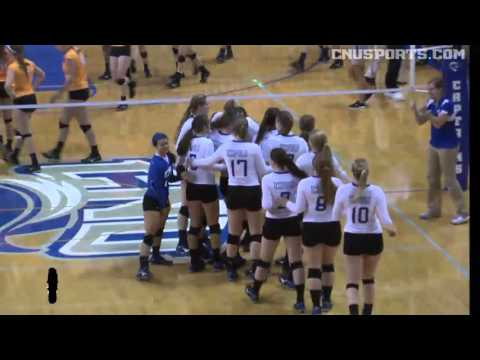 VB: CNU vs. Salisbury CAC Championship Highlights