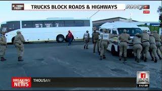Video Gauteng taxi strike causes chaos MP3, 3GP, MP4, WEBM, AVI, FLV Oktober 2017