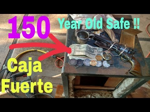 Safe Gives Up CIVIL WAR GUN & GOLD ! Caja Fuerte regala PISTOLA DE GUERRA CIVIL Y ORO !!!