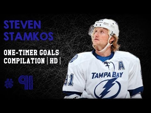 steven stamkos - Highlight video of the best One-Timers from the greatest one-timer in the NHL, Steven Stamkos # 91 Thanks for Watching !!! Like and Comment.