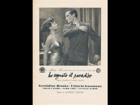 Ho sognato il paradiso - 1949 di Giorgio Pastina con Vittorio Gassman видео