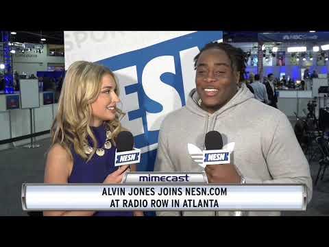 Video: Super Bowl 53 Radio Row: Baltimore Ravens' Alvin Jones