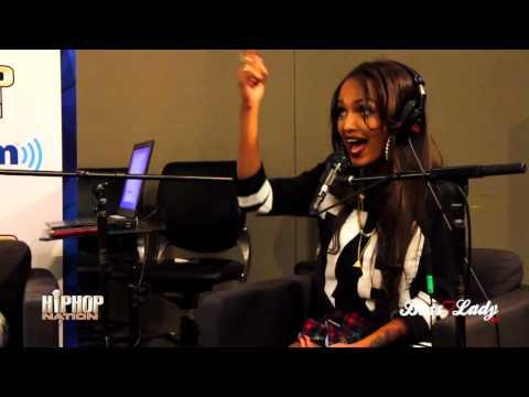 "Lola Monroe ""On Da Spot"" Freestyle On Hip Hop Nation"