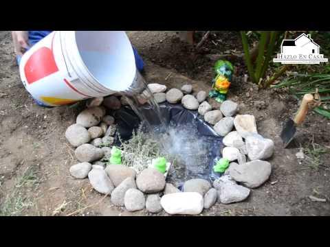 Hazlo en casa vie 15 mzo como hacer un estanque en el for Como armar un estanque