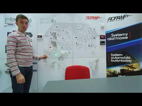 OptimaGSM - prezentacja funkcji automatyki domowej