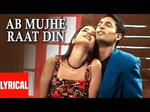 Video Lyrical Video: Ab Mujhe Raat Din   Deewana   Hindi Album   Sonu Nigam download in MP3, 3GP, MP4, WEBM, AVI, FLV January 2017