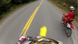 3. Suzuki RM 125 vs Honda CRF 150f Straight Up Drag Race