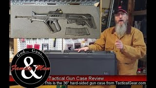 This video reviews the 5.11 hard-sided mil-spec gun case.  I found this case to be the ideal solution for my IWI Tavor SAR bull-pup rifle especially with optics mounted (just try finding a soft case to fit).  We also show some tips on cutting foam to fit your rifle and accessories.