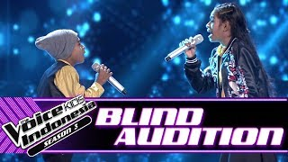 Video Jeni & Joni Kase - Ingin Ku Miliki | Blind Auditions | The Voice Kids Indonesia Season 3 GTV 2018 MP3, 3GP, MP4, WEBM, AVI, FLV September 2018