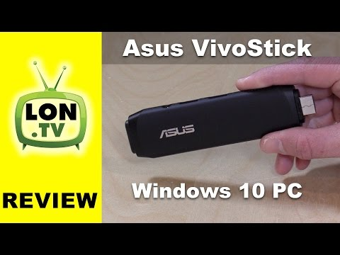 ASUS VivoStick Review - Windows 10 Stick PC - TS10-B017D