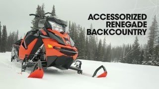 5. Accessorized 2016 Renegade Backcountry