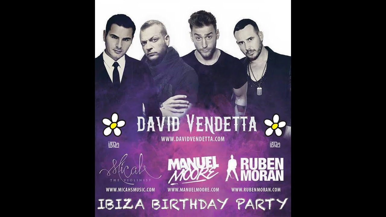 Ibiza Birhday Party!