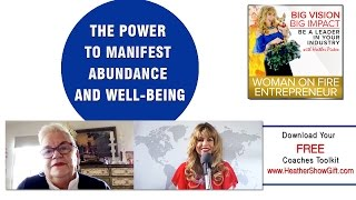 Episode #78 : The Power to Manifest Abundance and Well-being with guest Rev Wallis pattisonn