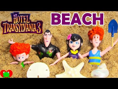 Hotel Transylvania 3 Beach Treasure Hunting Summer Vacation