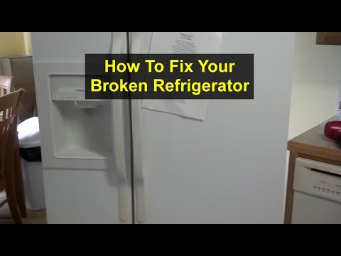 Refrigerator Repair, Freezer Iceing Up – GE HotPoint CSX22GR