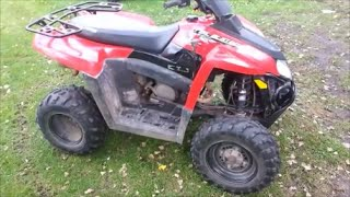 3. POLARIS TRAILBLAZER OIL CHANGE!
