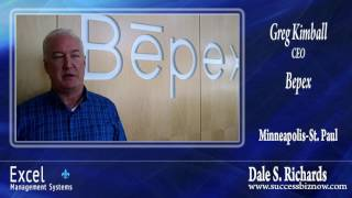 Dale's overall business performance improvement  ideas were of great value for Greg in Minneapolis