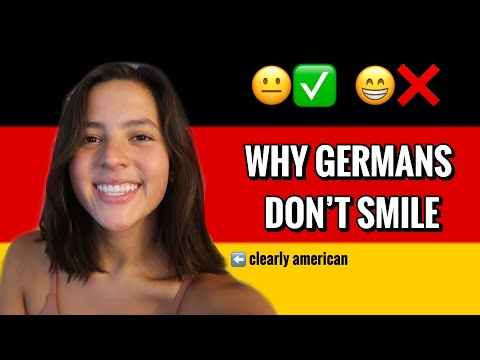 Why Do Germans Smile Less?