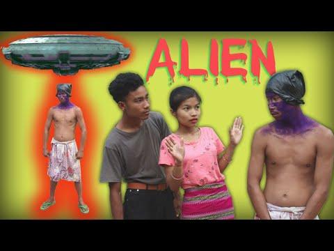 ALIEN a new kokborok short film   funny   bishal, lila tei hamari   ksf   @Kokborok Short Film