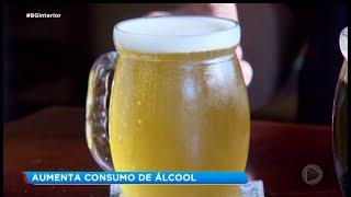 Aumenta consumo de álcool durante isolamento social