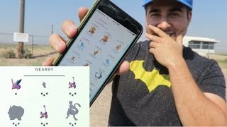 LEGENDARY POKEMON GO IN AREA 51! TIME TO CATCH MEWTWO!? (CATCHING POKEMON AT AREA 51 ALIEN BASE)