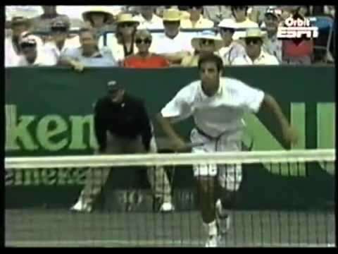Pete Sampras amazing slam dunks!