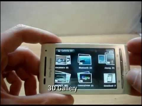 Sony Ericsson Xperia X10 mini and mini pro video tour - part 1 of 2