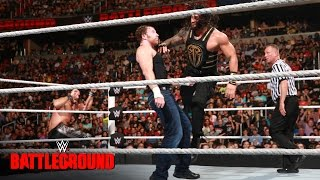 Nonton Dean Ambrose Vs Roman Reigns Vs Seth Rollins   Wwe Title Triple Threat Match  Wwe Battleground 2016 Film Subtitle Indonesia Streaming Movie Download