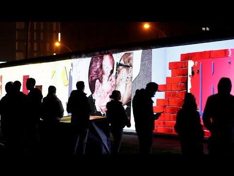 Βερολίνο: Τριακοστή επέτειος από την πτώση του Τείχους …