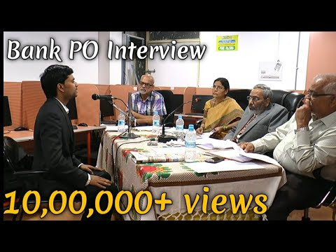 IBPS PO MOCK Interview - BANK PO Personal Interview