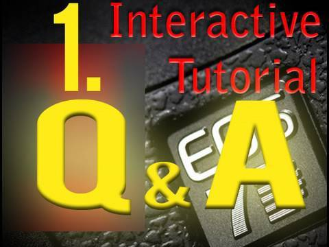 1. Canon 7D T2i 5D Questions and Answers series - HDSLR vDSLR tutorial videos