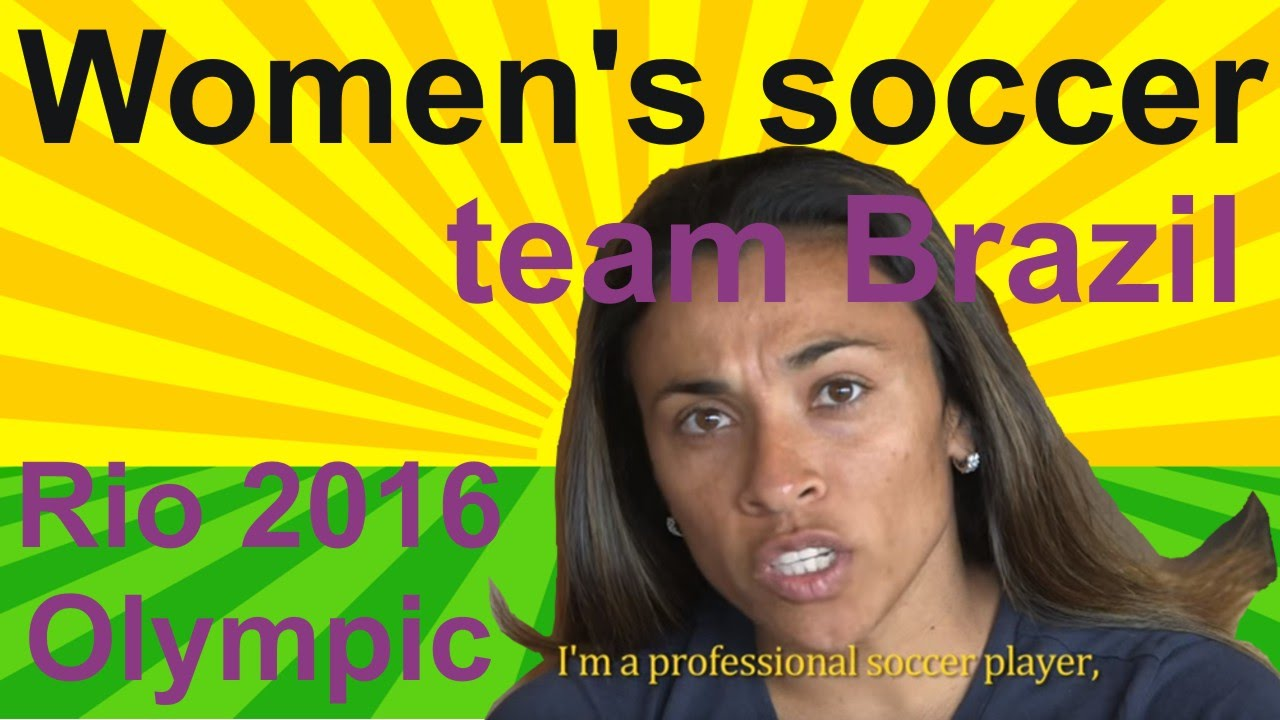 Women's Olympic Football Tournament Rio 2016 – team Brazil and Women's soccer