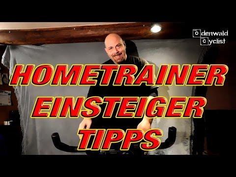 Hometrainer Einsteiger Tipps