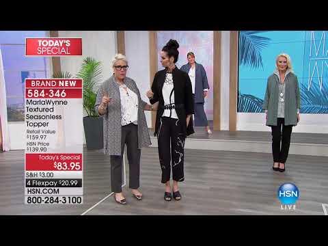 HSN | MarlaWynne Fashions 02.08.2018 - 09 AM