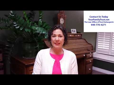 Orange County Estate Planning Lawyer 949 770 4271 Your Family Trust  net