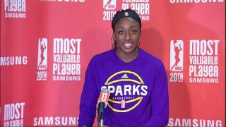 Nneka Ogwumike's MVP Press Conference by WNBA