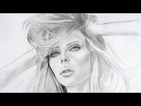 ✎ PORTRAIT ZEICHNEN IM ZEITRAFFER #1 |portrait speed painting
