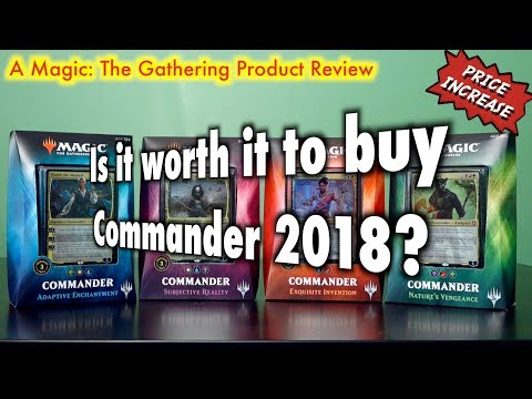 MTG - Is It Worth It To Buy A Commander 2018 Deck For Magic: The Gathering?