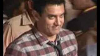 Aamir at Boman Irani's son's wedding