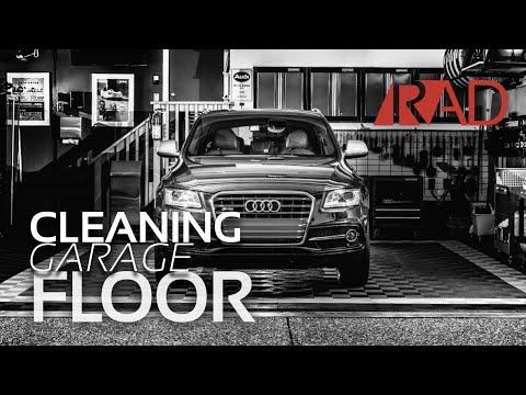 Spring Clean of RaceDeck Free Flow Floor in my Detailing Garage
