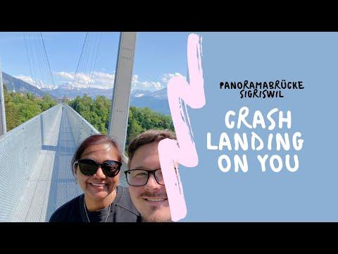 Crash Landing on You - Ep 4 🎥:📍Sigriswil Panorama Bridge