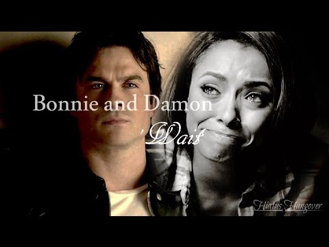 the vampire diaries - damon e bonnie